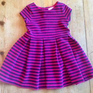 Ralph Lauren Girls striped dress 24 mo